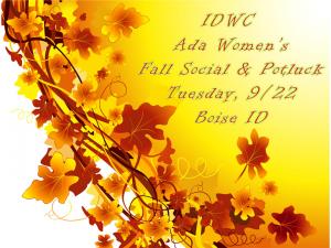 IDWC Fall Social Poster