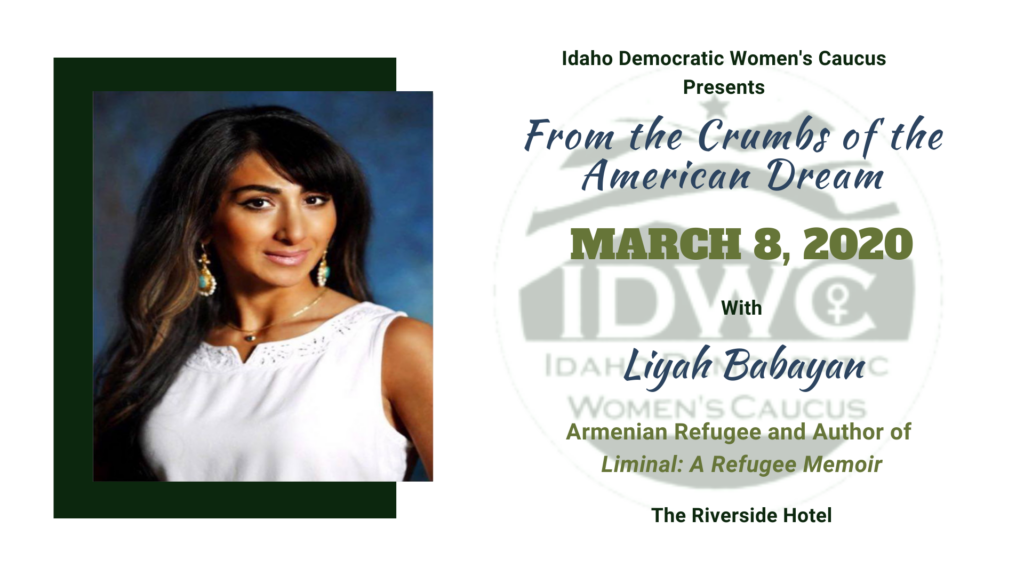 Democratic Women's Caucus Breakfast speaker Liyah Babayan